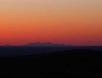 Sunset near Havre