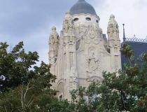 Budapest buildings