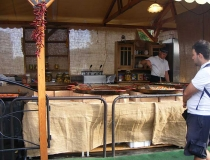 Festival cooking in Budapest