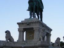 Budapest statue of St. Stephen
