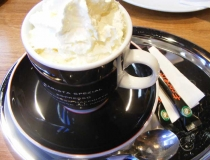 Cafe con panna in Budapest