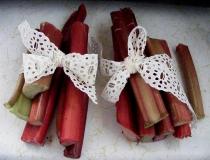 Lace rhubarb