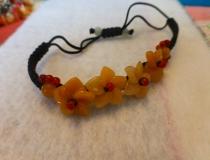 Hawaiian stone bracelet