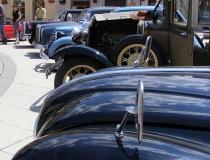 Old car show in Osijek, Croatia