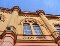 Beautiful buildings in Osijek.