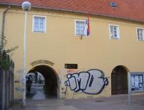 A square in Osijek