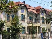 A famous old street in Osijek Croatia.