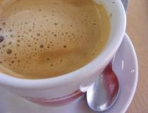 Coffee in Osijek Croatia