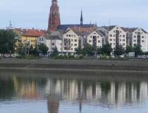 Osijek Croatia on the Drava River
