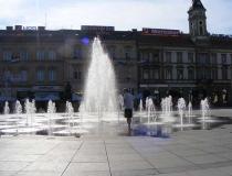 Fountain in Trg Ante Starčevića
