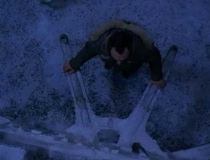 Lost Ben Linus moves the frozen donkey wheel