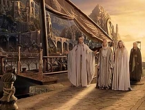 Tolkien Lord of the Rings Grey Havens