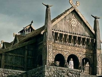 Tolkien Lord of the Rings Edoras
