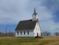 A South Dakota country church