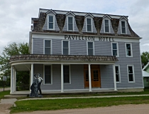 The historic Pavilion Hotel, Taylor, NE