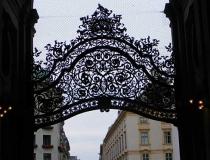 Filigreed gateway Vienna