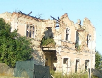 War damage in Vukovar Croatia