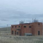 An abandoned substation