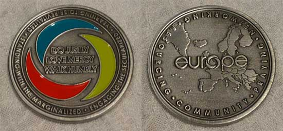 Europe coin