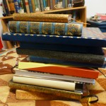 All of my journals from July 2013 until November 2015.