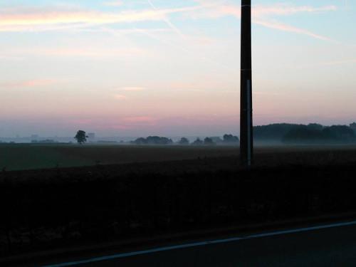 Vlaams-Brabant sunrise